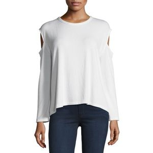 NWT RAG&BONE/JEAN White Cold Shoulder Long Sleeve